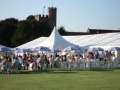 Entertaining in a marquee in West Berkshire
